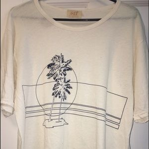 ALL THINGS FABULOUS Sunset vintage tee (White!)